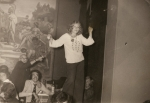 Marilyn Egolf - 1974 - Athens, Greece, table dancing