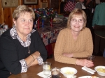 Jean Lau Kuc ('64) and Arlene Kopec Unchester ('64) at the VFW.