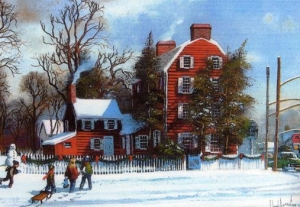 The Girl Scout House - Merchants & Drover's Tavern St. George & Westfield Ave. Rahway - By Lloyd Garrison. Click on pho