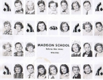 Madison School 1954-1955: Class of '65 - Mary Baker, Dennis Weins, David Davis, Joann Hinkle, Louise Russell, Carol Ade