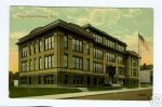 Rahway High on Campbell St 1920's