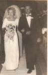 1966 Wedding of Grace Gurval 65  and George Smith 64