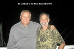 06 SEP 07 - Eddie Dulik '65 & Scott Smith '65 at The River House, Brielle, NJ