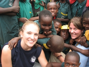 Student of Robert Pribush in Uganda