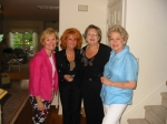 June 2003 Susie Oslislo, Patty Truppa, MaryAnn Crosby & Betsy Swain