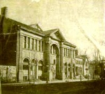 Gordon Opera House Rahway built 1874 on Urban St. near Elizabeth Ave. burned down April 30, 1885