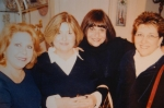 JANICE PETERSON, MARLENE SPIRIDIS, SUZANNE LACKIE AND OUR FEARLESS LEADER AND CLASS PRESIDENT CHERYL DECARLO...1968