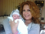 My friend of 45 years...Janice Peterson Feldman and new granddaughter Samantha..Looking Fabulous! posted by S.L. Adivari
