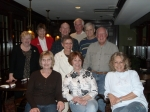 '64 Cupper Club, March, 2009:  Arlene, Barbara, Geri, Eileen, Patty, Sherry, Cliff, Jim, Ron, Wilson.