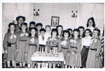 Rahway Girl Scout Troop- year unknown:  Can you identify Ingrid Barth, Nancy Munday, Jo Ellen Zygo, Barbara Cook, Bonnie