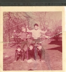 Top L to R: Jim Madison Danny Dazet  Bottom L to R: Brian Egolf, Eddie Polhemus & Johnny Bray - 1955