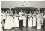 Senior Prom (Chris Ebright, Margie Nash, Teri Zerns, Rich Gilcrest - King, Karen Reese - Queen, Donna Schweitzer, Brenda