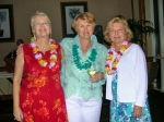 Ingrid (Barth) Hammen, Judy (Twaskas) Reskow & Joyce (Torrone) Twaskas at Judy's Mom's 90th Birthday Bash Jan 20, 2007