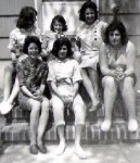 Top row - left to right -- Linda Johnson, Lorraine Francen and Marilyn Shalestik -- Bottom Row - left to right -- Diane